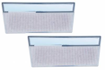 Distinctive Industries - 1968 - 77 Ford Bronco Door Panel Set - with Mylar Trim