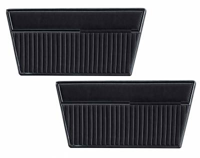 Ford Bronco - Door and Quarter Panels - Distinctive Industries - 1968 - 77 Ford Bronco Door Panel Set - All Vinyl
