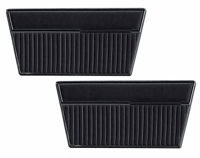 Ford Bronco - Door and Quarter Panels - Distinctive Industries - 1968 - 77 Ford Bronco Door Panel Set - All Vinyl