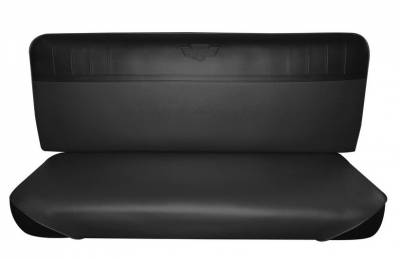 Seats & Upholstery  - Trucks - Distinctive Industries - Replacement Bench Seat Upholstery for 1967 - 72 Ford F-Series Trucks