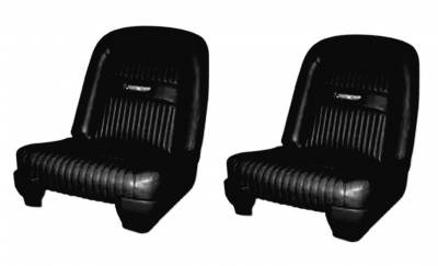 Ranchero - Seat Upholstery - Distinctive Industries - 1963 Ford Ranchero Bucket Seat Upholstery