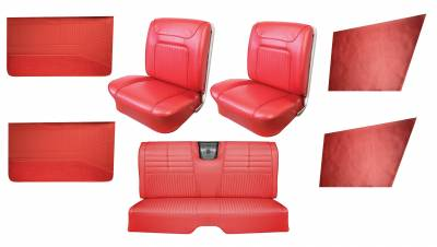 Impala, Bel Air, Caprice Upholstery - Interior Packages - Distinctive Industries - 1964 Impala SS Bucket Seat Upholstery & Panel Package I