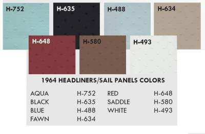 Distinctive Industries - 1964 Impala Standard Bench Seat Upholstery, Carpet & Panel Package 4 - Image 10