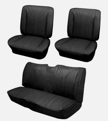 Distinctive Industries - 1965 Impala SS Coupe Bucket Seat Upholstery, Carpet & Panel Package 4 - Image 2