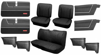 Distinctive Industries - 1965 Impala SS Bucket Seat Upholstery, Carpet & Panel Package 4