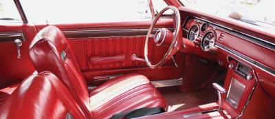 Seats & Upholstery  - Cougar - Distinctive Industries - 1967 Cougar Hardtop Front Bucket & Rear Bench Seat Upholstery