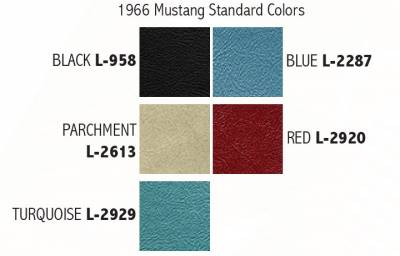 Distinctive Industries - 1966 Mustang Standard Touring II Front Bucket Seats - Image 3