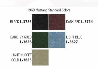 Distinctive Industries - 1969 Mustang Standard Touring II Front Bucket Seats - Image 4