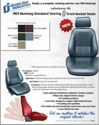 Distinctive Industries - 1969 Mustang Standard Touring II Front Bucket Seats - Image 3