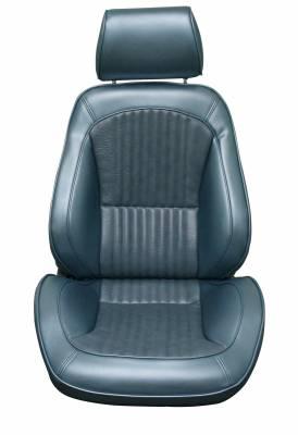 Distinctive Industries - 1969 Mustang Standard Touring II Front Bucket Seats - Image 2