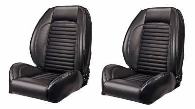 Mustang - Complete Ready-to-install Seats - TMI Products - 1966 Mustang Deluxe Sport II Pro Series Seats by TMI