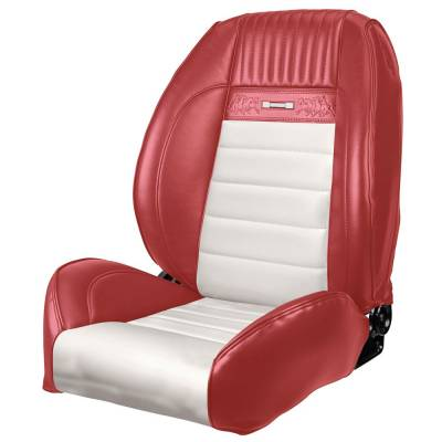 TMI Products - 1964 - 66 Mustang OEM PONY Style Deluxe Sport II Pro Series Seats by TMI - Image 4