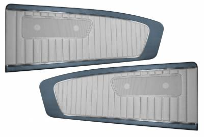 Distinctive Industries - Two-Tone Vinyl Door Panel (Pair) 1965 Mustang Coupe, Convertible, Fastback - Image 3