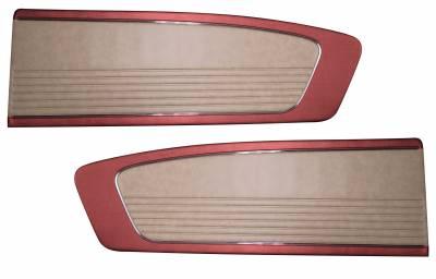 Distinctive Industries - Two-Tone Vinyl Door Panel (Pair) 1966 Mustang Coupe, Convertible, Fastback - Image 3