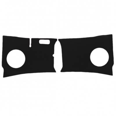 TMI Products - 1955 - 1961 VW Bus Kick Panels. Smooth Vinyl