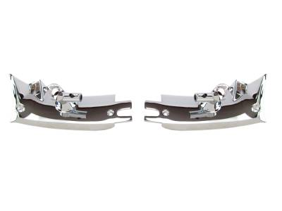 Interior Accessories - ACP - 65-66 Mustang Sunvisor Bracket Assembly W/O Rod For Convertible