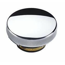 Cooling System - Cooling Accessories - CFR - Chrome Round Billet Radiator Cap for Chevy Ford Mopar