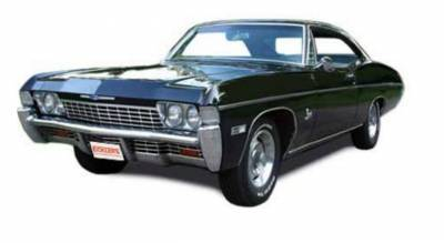 Exterior - Grilles and Inserts - Impala Grilles