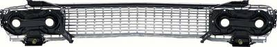 OER - 3817606A - 1963 Impala / B-Body Grill Assembly With Brackets And Housings - Image 2