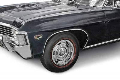 OER - B1398 - 1967 Impala /Full Size Wheel Opening Molding Kit - Image 2