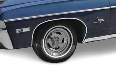 OER - B1399 - 1968 Impala / Full Size Wheel Opening Molding Set - Image 2
