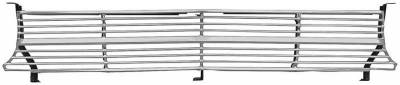 Grilles and Inserts - Nova/Chevy II - OER - 3792544 - 1962 Nova / Chevy II Standard Grill Assembly with Brackets