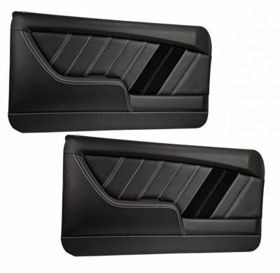 TMI Products - Sport R Molded Door Panel Set - 1968 Camaro