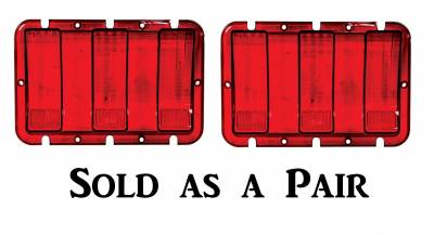 Dynacorn - 1967 1968 Ford Mustang Tail Lamp Lens & Housing Set -- Both Right & Left Sides - Image 2