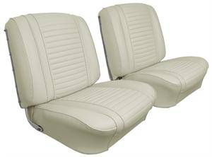 Seats & Upholstery  - Cutlass 442 - Distinctive Industries - 1963 Cutlass F-85 Front Bucket Seat Upholstery