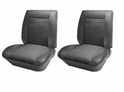 Seats & Upholstery  - Cutlass 442 - Distinctive Industries - 1964 Cutlass Holiday Coupe/Convertible Front Bucket Seat Upholstery