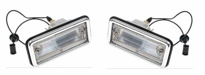 Lighting - Tail Lights, Back Up Lights, Marker Lights - OER - 1967-68-Camaro-RS-Back-Up-Light-Assembly-Pair-Right-amp-Left
