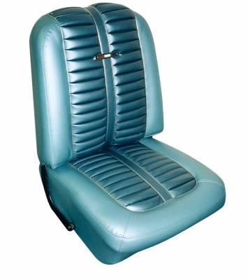 Fairlane  - Seat Upholstery - Distinctive Industries - 1963 Ford Fairlane 500 H/T Sports Cpe Front Bucket seat upholstery