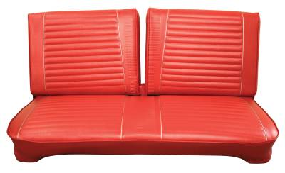 Fairlane  - Seat Upholstery - Distinctive Industries - 1964 500 Sport Coupe, H/T, Sedan & Wagon Front Seat Upholstery