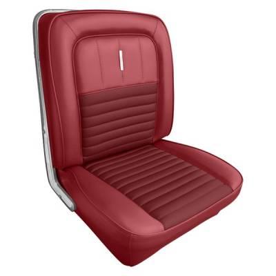 Fairlane - Seat Upholstery - Distinctive Industries - 1967 Fairlane 500, 500XL & GT Front Seat Upholstery