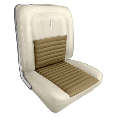 Distinctive Industries - 1967 Fairlane 500, 500XL & GT Front Seat Upholstery - Image 7