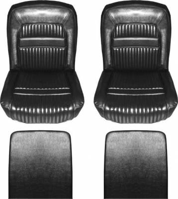 Seats & Upholstery  - Falcon - Distinctive Industries - 1961-1962 Falcon Futura 2dr, Deluxe 2dr Sedan & Wagon Seat Upholstery