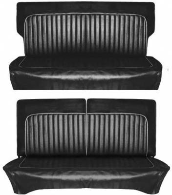 Distinctive Industries - 1961-1962 Falcon Futura 2dr, Deluxe 2dr Sedan & Wagon Seat Upholstery - Image 2