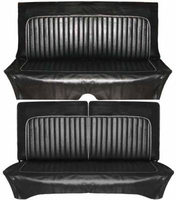 Distinctive Industries - 1961-1962 Falcon Futura 2dr, Deluxe 2dr Sedan & Wagon Seat Upholstery - Image 3