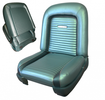 Seats & Upholstery  - Falcon - Distinctive Industries - 1963 Ford Falcon Seat Upholstery