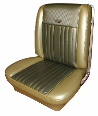 Seats & Upholstery  - Falcon - Distinctive Industries - 1966-1967 Ford Falcon Seat Upholstery