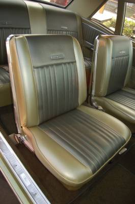 Distinctive Industries - 1966-1967 Ford Falcon Seat Upholstery - Image 2