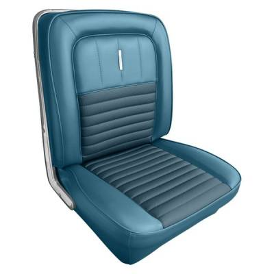 Seats & Upholstery  - Fairlane  - Seat Upholstery