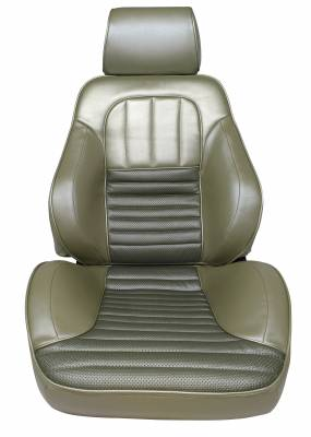 Fairlane  Upholstery - Complete Ready to Install Seats - Distinctive Industries - 1967 Fairlane 500XL/GT Touring 2 Front Bucket Seats