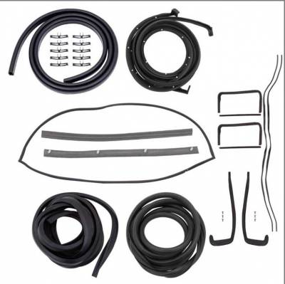 Exterior - OER - *TF400755 - 1957 Chevrolet 2 Door Hardtop Weatherstrip Kit