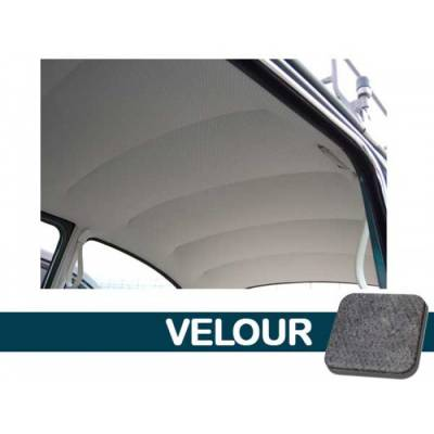TMI Products - 1947 - 67 Volkswagen Bug Sedan Original Style Headliner, W/Post Mat. - Velour or Tweed - Image 2