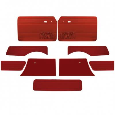 TMI Products - Full Panel Set for 1968 - 74 Type III Squareback, Vinyl, With or Without Pockets - 9 pc. Set