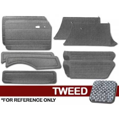 TMI Products - Full Panel Set for 1968 - 74 Type III Squareback, Tweed, With or Without Pockets - 9 pc. Set