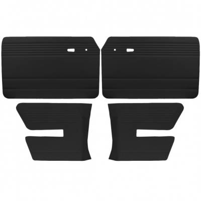 TMI Products - Door Panel Set for 1968 - 72 Type III Fastback, Vinyl, With or Without Pockets - 4 pc. Set - Image 2