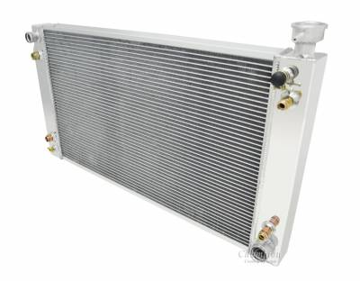 Champion Cooling Systems - Three Row Champion Aluminum Radiator for 1988 - 95 Chevy C/K Series Truck, CC622