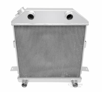 Radiators - Aluminum Radiators - Champion Cooling Systems - 1939 - 1941 Ford/Mercury with Ford Flathead Configuration CC4001FH